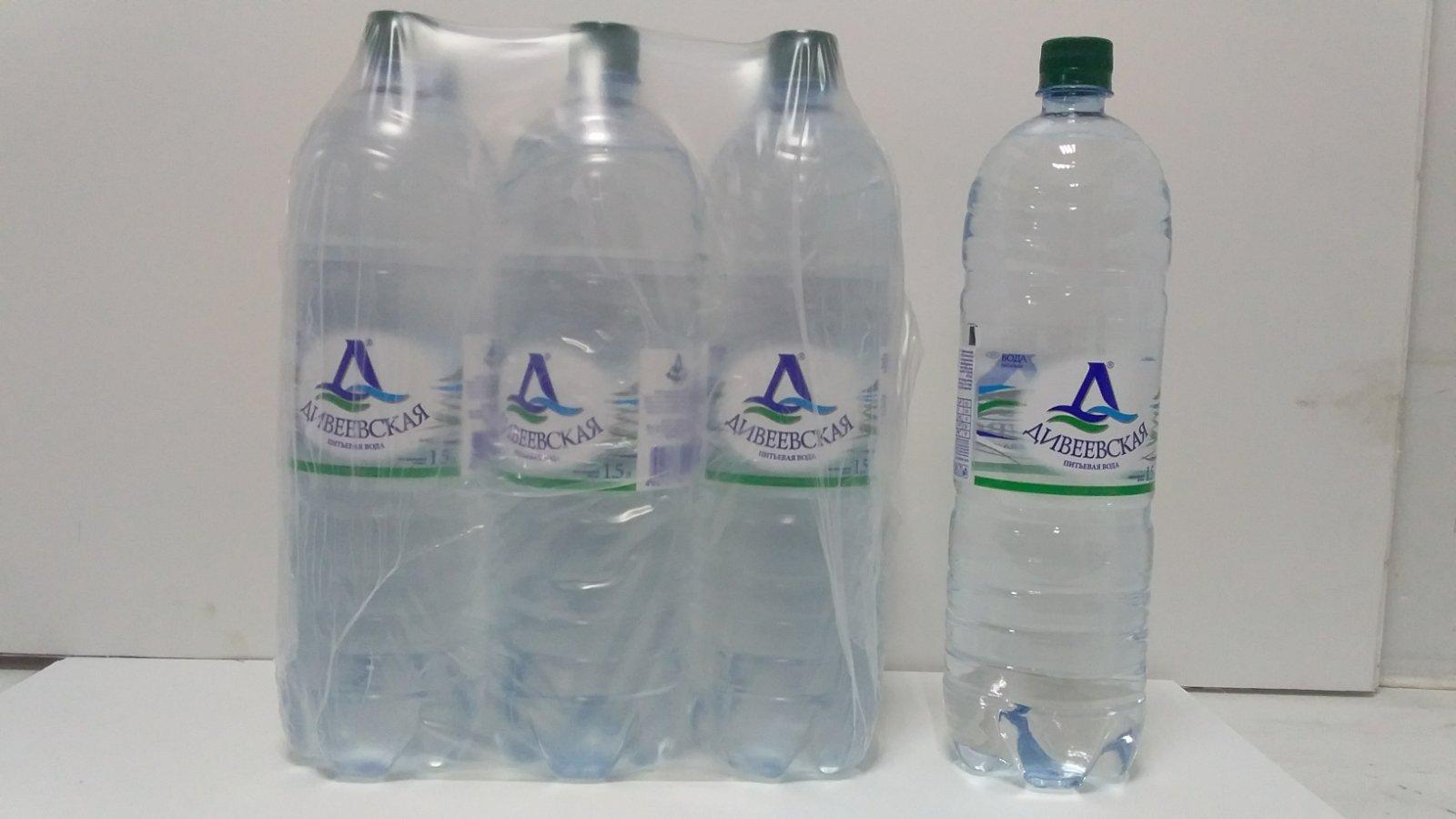 1,5 литровая бутылка Дивеевской негазированной воды
